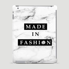 Made in Fashion x Happy Holidays - White Marbles