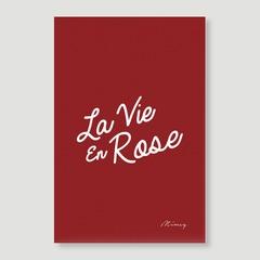 La Vie En Rose - Red